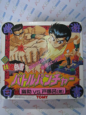 Anime Yu Yu Hakusho Yusuke Urameshi VS. Younger Toguro Battle Puncher Toy TOMY