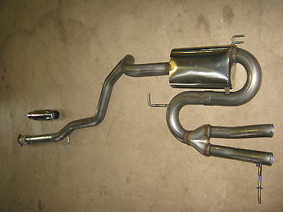 """Solo Performance 3""""Cat Back Exhaust  High Performance For Hyundai Veloster Turbo"""