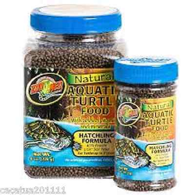 ZOO MED NATURAL AQUATIC TURTLE FOOD - HATCHLING 213g - NOW BACK IN STOCK
