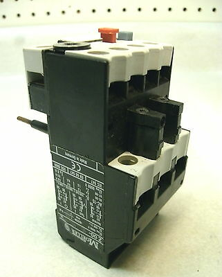 New In Box Moeller Z00-16 Motor Overload Relay Adjustable 10-16A, 600Vac 1No 1Nc