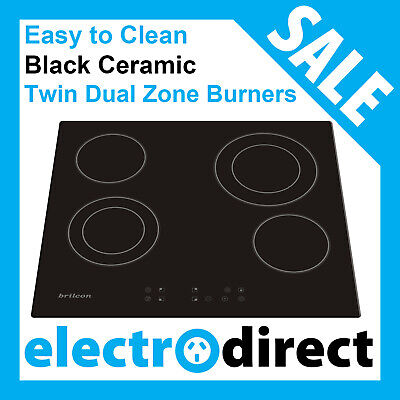 Brand New 60cm Ceramic Cooktop Electric Hob Stove Cook Top Black Glass EasyClean