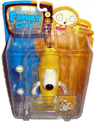 Family Guy Banana Brian Action Figure Series 6 MIB RARE Mezco Toy