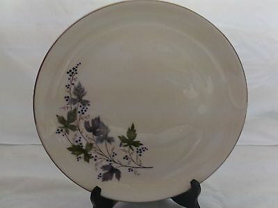 """Triumph by Homer Laughlin Fine China Dinner Plate White Base Ivy Print 10""""1/2"""