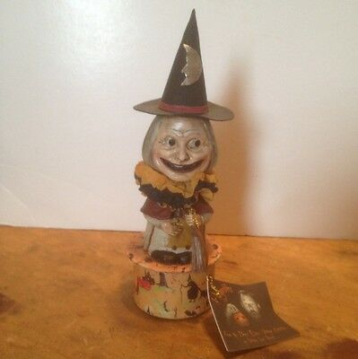 Bruce Elsass for Bethany Lowe Witch Candy Container