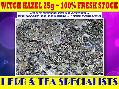 WITCH HAZEL 25g TEA☆100% Hamamelis virginiana☆RELAXATION☆DRIED HERB☆SAVE☆HERBAL