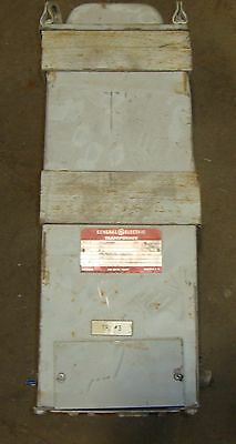 General Electric Transformer Model # 9T21A4008 3 Phase 60 Hz 6 KVA C3~ 18456LR