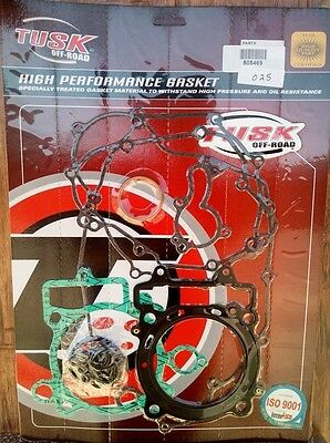 Kawasaki KX450F KXF KX 450 2006-08 Complete Tusk Gasket Kit Top & Bottom End Set