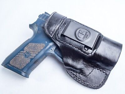 Beretta 92FS 9mmOUTBAGS Full Grain Leather OWB Pancake Belt Holster USA MADE