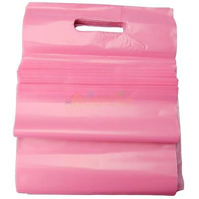 "100 1.5mil 9 x 12"" Low-density Plastic Retail Grocery Shopping Merchandise Bags"