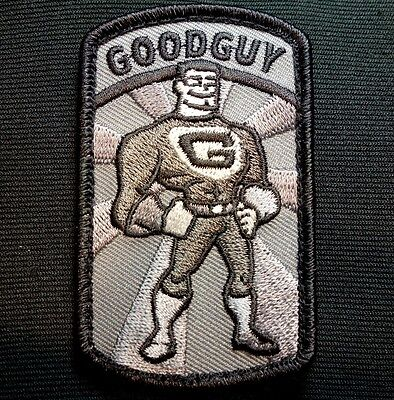 Goodguy Usa Army Morale Military Combat Us Isaf Badge Swat Hook Patch