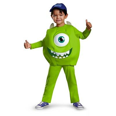 MONSTERS UNIVERSITY Mike Deluxe Child Costume