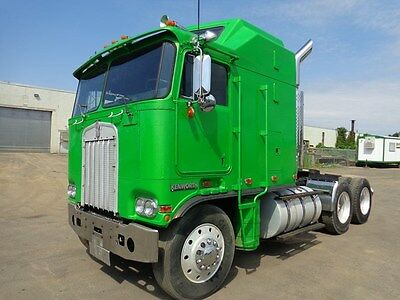 1984 KENWORTH K100 SLEEPER TRUCK CUMMINS DIESEL ISL 9 SPEED MANUAL !!!