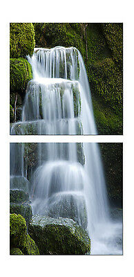 Waterfall/Landscape easy to hang fiberboard canvas wall art/betterThan stretched