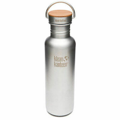 KLEAN KANTEEN 800ml 27oz Reflect Brushed Stainless BPA Free Water Bottle SAVE