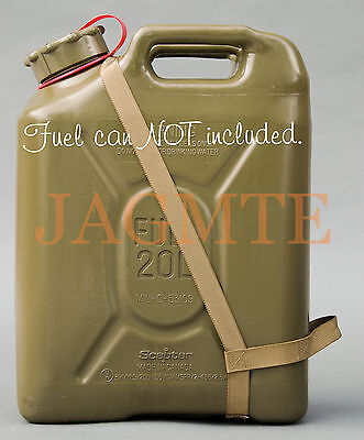 EASY POUR STRAP Fuel Brown for your Scepter MFC Military Fuel Gas Jerry Can