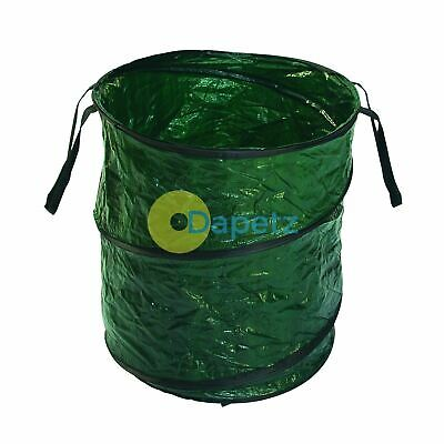 Large Pop Up Garden Bag Waste Weeds Leaves Bin Sack Rubbish Carry Heavy Duty