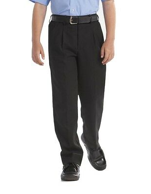 "Boys-GENEROUS-STURDY FIT soft elasticated back-QUALITY ""Palvini""  Trouser 7-12YR"