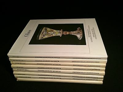 Vintage Books(Set of 8):By Cooper-Hewitt Museum; Smithsonian Library Of Antiques