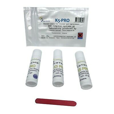 Viscous thermal paste for thermal pad replacement K5 PRO 30g 3X10g iMac PS4 XBOX