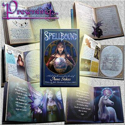 SPELLBOUND - A Limited Edition book of Spells with the art of ANNE STOKES