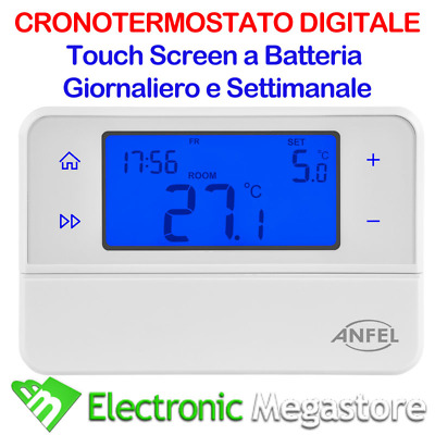 Cronotermostato Digitale Programmabile Touch Screen Cds-30 Lafayette Termostato