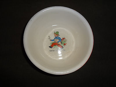 """Vintage """"Tom Tom The Pipers Son"""" Baby Bowl"""