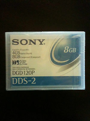 Sony DGD120P DDS-2 8GB Compressed Computer Data Cartridge