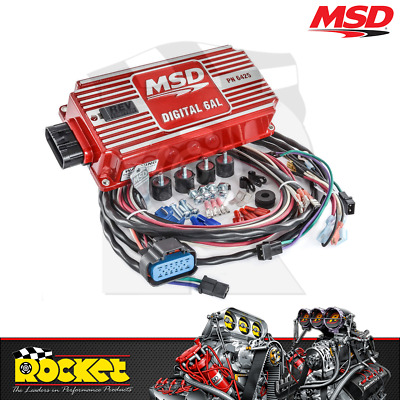 MSD Digital 6AL Ignition Control with Soft Touch Rev Control - MSD6425