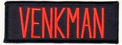 5 inch GHOSTBUSTERS VENKMAN  NAME TAG IRON ON  PATCH