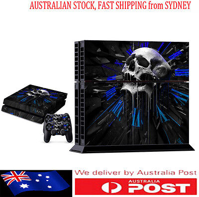 NEW Fashio COOL189 DECAL SKIN PROTECTIVE STICKER for SONY PS4 CONSOLE CONTROLLER