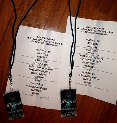Another Night of Filth with 10 Years Laminate + Setlist