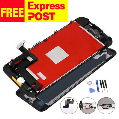 iPhone 5S LCD Screen Display Digitizer Assembly Replacement+Home Button Camera
