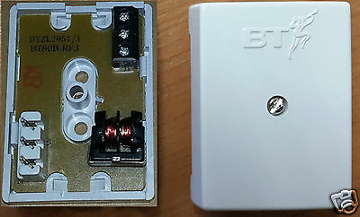 Genuine BT80B RF3 Block Terminal junction phone connector box use with BT Virgin