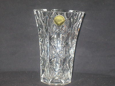 """Cristal Vase 5"""" tall 24% Genuine Lead Crystal Made in France"""