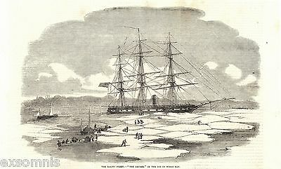 1855 - Th - The Baltic Fleet H.m.s. Archer In The Ice (21843)