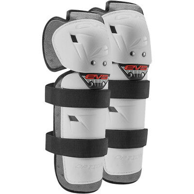 EVS Mx Gear Option Cheap White Youth Knee/Shin Guards Motocross Kids Knee Guards