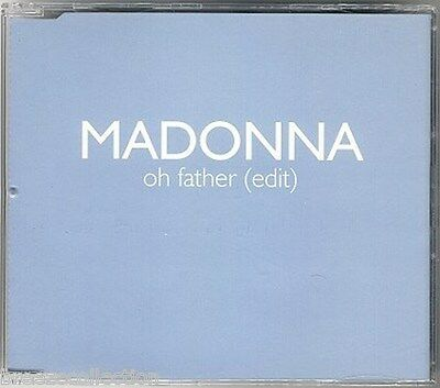 Madonna OH FATHER UK promo only CD single RARE edit special unique title sleeve