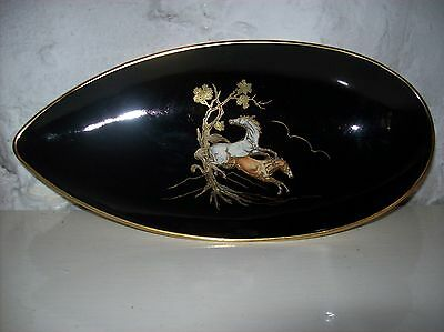 "CROWN DEVON ""PEGASUS"" OBLONG DISH"