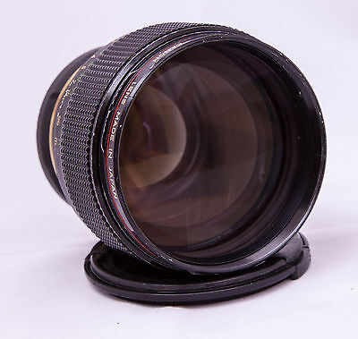 Canon FDn 85mm F1.2 L with EdMika EF conversion mount Lens 85 1.2 1:1.2 FD