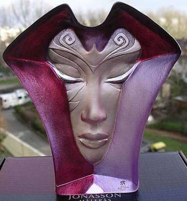 Ovp & Neu - Maleras Art Glass Sculptur Morgana Gross - Signierte & Original