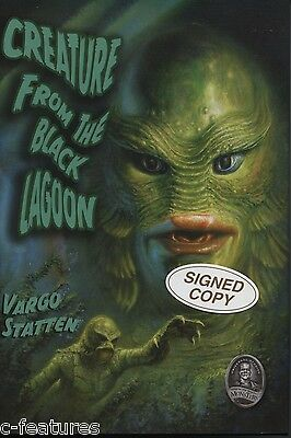 CREATURE FROM THE BLACK LAGOON Vargo Statten 1954 NOVELIZATION Hardcover SIGNED!