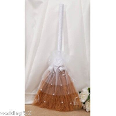 """32"""" Wedding Jump Broom For Jumping the Broom at your Wedding Party Ceremony"""