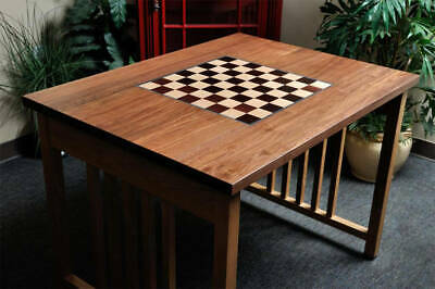 """Signature Traditional Chess Table - 2.25"""" Squares"""