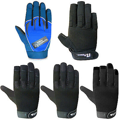 Working Mechanics Gloves Woker Safety Tradesman Gloves MULTI DESIGNS
