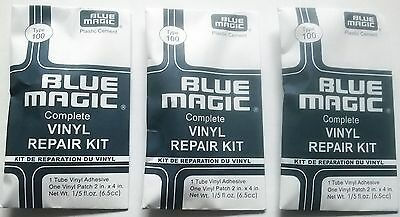 Three Waterbed  Repair Kits -  3 Glue and Patch Sets  - FREE POSTAGE