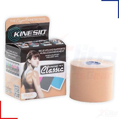 Kinesio Classic Muscle Support Tape Roll - Beige - 5cm x 4m - Kinesiology