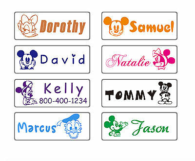 custom name stamp teacher kids self inking pre minnie mouse mickey personalized
