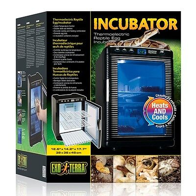 Exo Terra Thermoelectric Reptile Egg Incubator  , Newest Model 2014