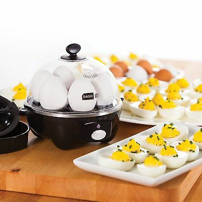 Dash Go Rapid Egg Cooker Perfectly Cooks 6 Eggs At A Time