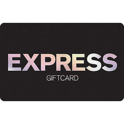 Express Gift Card - $25 $50 or $100 - Email delivery